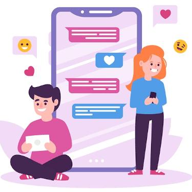 Start chatting